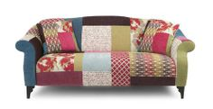 Maxi Sofa Shout Patchwork   DFS how amazing is this couch!!!