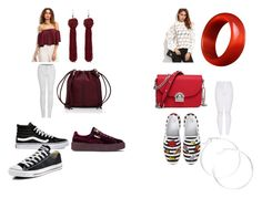 """Untitled #5"" by mneayen on Polyvore featuring WithChic, 2LUV, Deux Lux, Puma, Vans, Converse, BP. and claire's"
