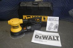 "Dewalt 5"" Random Orbit Palm Sander For More Information Visit www.CalAuctions.com"
