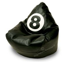 Our designer eight ball BeanBag!