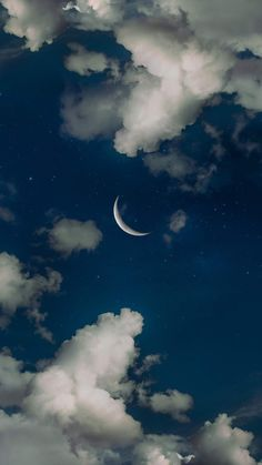 Crescent moon the night sky Halbmond der Nachthimmel mir Night Sky Wallpaper, Dark Wallpaper, Aesthetic Backgrounds, Aesthetic Wallpapers, Phone Backgrounds, Wallpaper Backgrounds, Moon Photography, Photography Basics, Scenic Photography