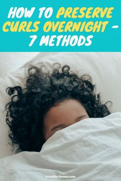 No matter if you have short or long curly hair, if we're talking wand curls, permed hair or natural curls - we all wonder how to best preserve our curls overnight. These 7 ways will help you not ruin your curls while sleeping! Long Hair Tips, Grow Long Hair, Easy Hairstyles For Long Hair, Permed Hairstyles, Diy Hair Care, Curly Hair Care, Hair Care Tips, Curly Hair Styles, Curly Girl
