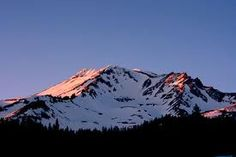 Mt. Shasta, California.  A great spot to get away