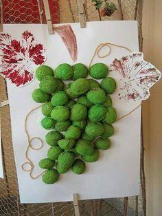 Ovoce a zelenina Autumn Activities For Kids, Toddler Activities, Projects For Kids, Art Projects, Walnut Shell Crafts, Fall Crafts, Arts And Crafts, Autumn Art, Preschool Crafts