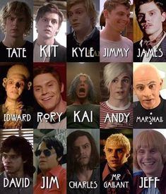 Since won't be returning to AHS for season who was your favorite character he played? mine was jimmy and mr gallant ✨ American Horror Story Tattoo, American Horror Story Quotes, American Horror Story Characters, American Horror Story Asylum, American Horror Story Seasons, Evan Peters, Dc Movies, Series Movies, Ahs