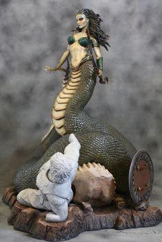 Medusa - Clash of the Titans (2010) - Statue - Greek Mythology #movies