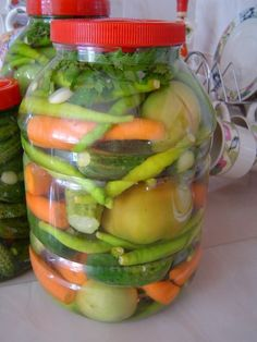 – Home Trends 2020 Turu, Winter Food, Kimchi, Pickles, Cucumber, Food And Drink, Homemade, Canning, Breakfast