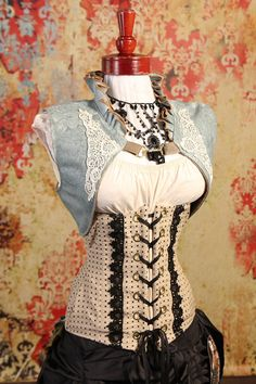 ONE OF  A KIND: Size Medium-Large Icy Blue Vest
