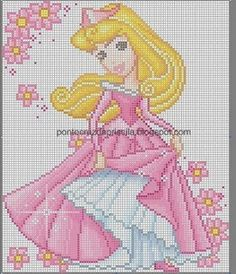 CHARMS IN POINT CROSS: The Disney Princesses