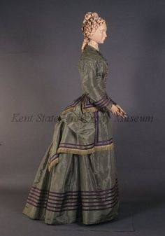 This is for my walk in Lovers Lane with Anne and Diana.  Day dress, 1875