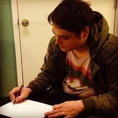 Mr. Gerard Way drawing.