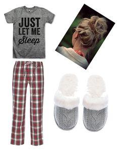 """Winter pajamas"" by delaney-willis on Polyvore featuring Sleepy Jones, Victoria's Secret, women's clothing, women, female, woman, misses and juniors"