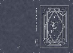 Magical drafts and potions book cover!