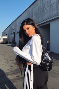 Trending Kylie Jenner : Kylie Jenner Wants You to Check Out Her Designer Backpack 3 Times Over, Thanks