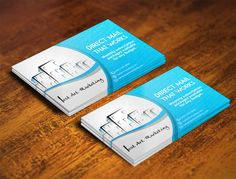 Postcard design for an innovative lead generation service. by Semas VYK
