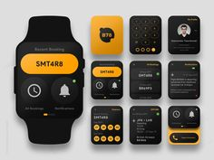 Travel App For Apple Watch - Concept by Bahur78