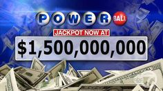Powerball jackpot for Wednesday's drawing soars to $1.5 billion ...