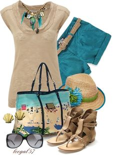 """Statement in the Sand"" by leegal57 on Polyvore"