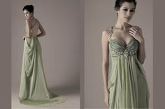 lovely green for a bridesmaid dress