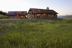 Built with straw bale construction ... Our dream home