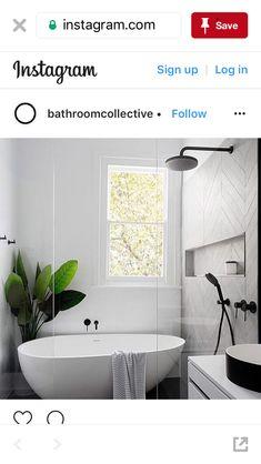 Useful Walk-in Shower Design Ideas For Smaller Bathrooms – Home Dcorz Beach House Bathroom, Family Bathroom, Laundry In Bathroom, Small Bathroom, Master Bathroom, Bathroom Canvas, Bathroom Plants, Bathroom Renos, Bathroom Renovations