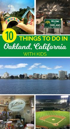 Things to do in Oakland, California with kids: Find out why San Francisco Bay Area family travelers should spend a few days in the East Bay.