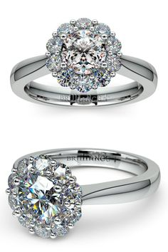 86 Best White Gold Engagement Rings Images On Pinterest In 2018