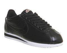 Nike, Classic Cortez Og, Black Leather W