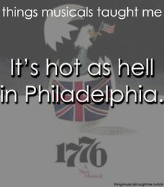 1776 - Even though I knew it was historically inaccurate, I totally used it to answer US history exam questions.