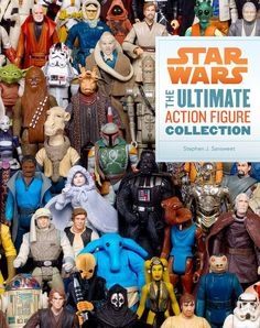 The upcoming Chronicle Books published Star Wars: The Ultimate Action Figure Collection paperback book by world-renowned Star Wars collector and author Stephen Sansweet will feature over 2,500 action figures from the Star Wars universe that have been produced in the past 35 years. It is currently available to pre-order at Chronicle Books and Amazon, with a publication date of November 28, 2012.