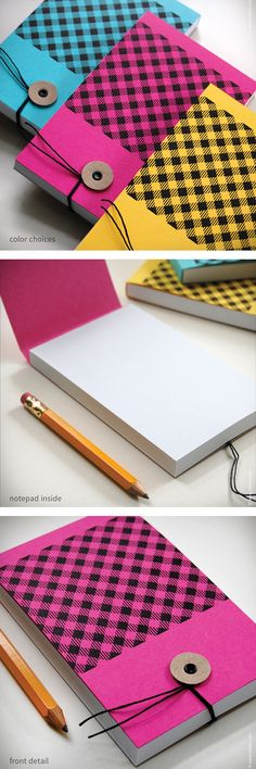 My 1AM Promise Purchase for May: Inkello cute & perfect notebooks. #handmade