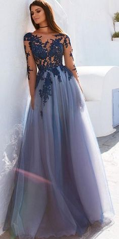 Sale Excellent Prom Dresses Long Glamorous A-Line Long Sleeve Prom Dresses,Lavender Exquisite Long Prom Dresses,Affordable Prom Dresses Online Open Back Prom Dresses, A Line Prom Dresses, Tulle Prom Dress, Prom Dresses Online, Cheap Prom Dresses, Sexy Dresses, Lace Dress, Sleeved Prom Dress, Beautiful Prom Dresses