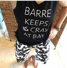 The hubby agrees...... #letmehavemyhour  @littlebarrefly in form with Madrid Butterfly Leggings + Cray top.  Shop them // Link in profile  #simplyworkout #barre #tiuteam  #crayatbay #purebarre #barre3 #xtendbarre #sculptbarre #barreaddict