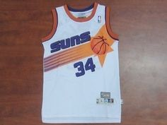 bd5ed9031 Phoenix Suns Cheap NBA  34 White Charles Barkley Soul Swingman Jersey Phoenix  Suns Cheap NBA  34 White Charles Barkley Soul Swingman Jersey