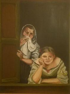 Κουτσομπόλες στο παράθυρο https://www.facebook.com/efiboziaart/