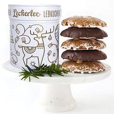 Leckerlee Lebkuchen Tin (Assorted) -... (bestseller)