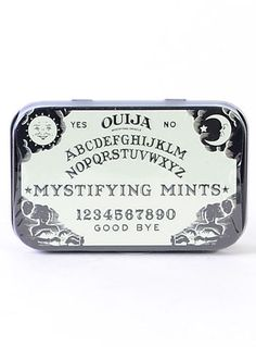 Ouija Board Mints in Tin at PLASTICLAND