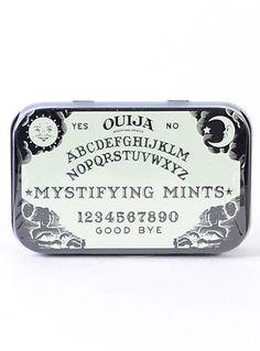 Ouija Board Mints in Tin at PLASTICLAND