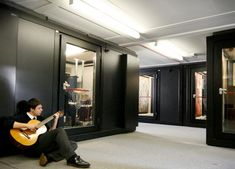 BOXY modular soundproof rooms create the perfect music studio in your home, garden or commercial space and make ideal music practice rooms for schools. King's College Cambridge, Perfect Music, Sound Proofing, Recording Studio, Voice Acting, How To Plan, Studios, Room, House