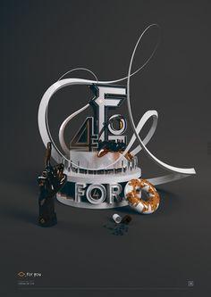 Beautiful Typography Manipulations by RDN   Abduzeedo Design Inspiration & Tutorials