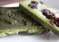 Paleo Dessert, Vegan Recipes, Vegan Food, Healthy Food, Cranberries, Waffles, Kakao, Superfoods, Breakfast