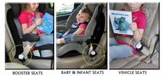 ARTICLE: How to Keep Your Child in Their Seat Belt / Car Seat