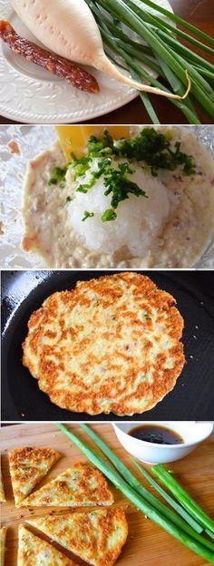 Chinese Turnip Pancake by The Woks of Life