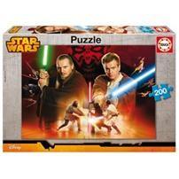 Puzzle 200 Pièces : Star Wars : Qui-gon Jinn Et Obi-wan Kenobi - Taille : Taille Unique Film Star Wars, Star Wars Toys, Obi Wan, Sith, Maul, Puzzle Shop, Ewan Mcgregor, Dark Side, Jigsaw Puzzles