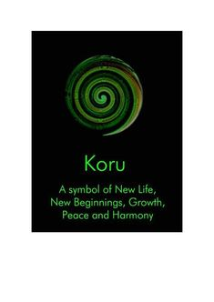 New Zealand Koru New Beginnings - NZ636 - new, card, koru, symbol ...