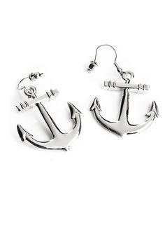 Cailap / by Bloggers / Nadja / Ankkurikorvakorut / Anchor earrings