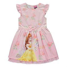 Disney Kaunotar ja Hirviö Prinsessa Belle mekko