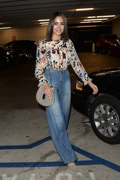 Olivia Culpo at Alice Olivia Eyewear is Art Event in Los Angeles on April 13 2017 Classy Outfits, Chic Outfits, Summer Outfits, Fashion Outfits, Womens Fashion, Fashion Trends, Olivia Culpo Style, Look Fashion, Autumn Fashion