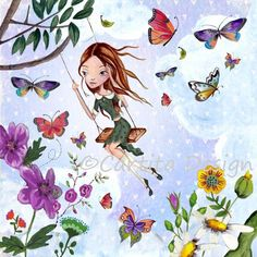 Illustrations Greeting Cards 2012 by Cartita Design, via Behance