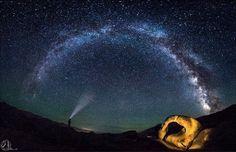綺麗な星空写真